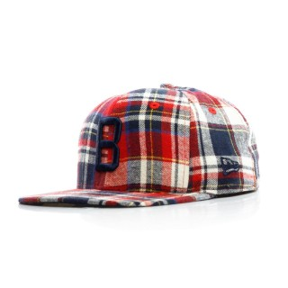 CAPPELLO SNAPBACK SPRING PLAID 950 COOPERSTOWN COLLECTION BRODOD stg
