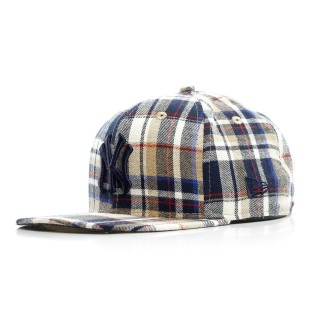 CAPPELLO SNAPBACK SPRING PLAID 950 COOPERSTOWN COLLECTION NEYYAN stg