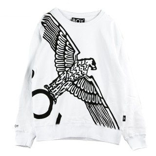 FELPA GIROCOLLO EAGLE WINGSPAN SWEAT