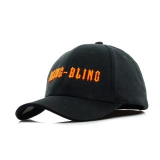 CAPPELLO VISIERA CURVA BLING BLING