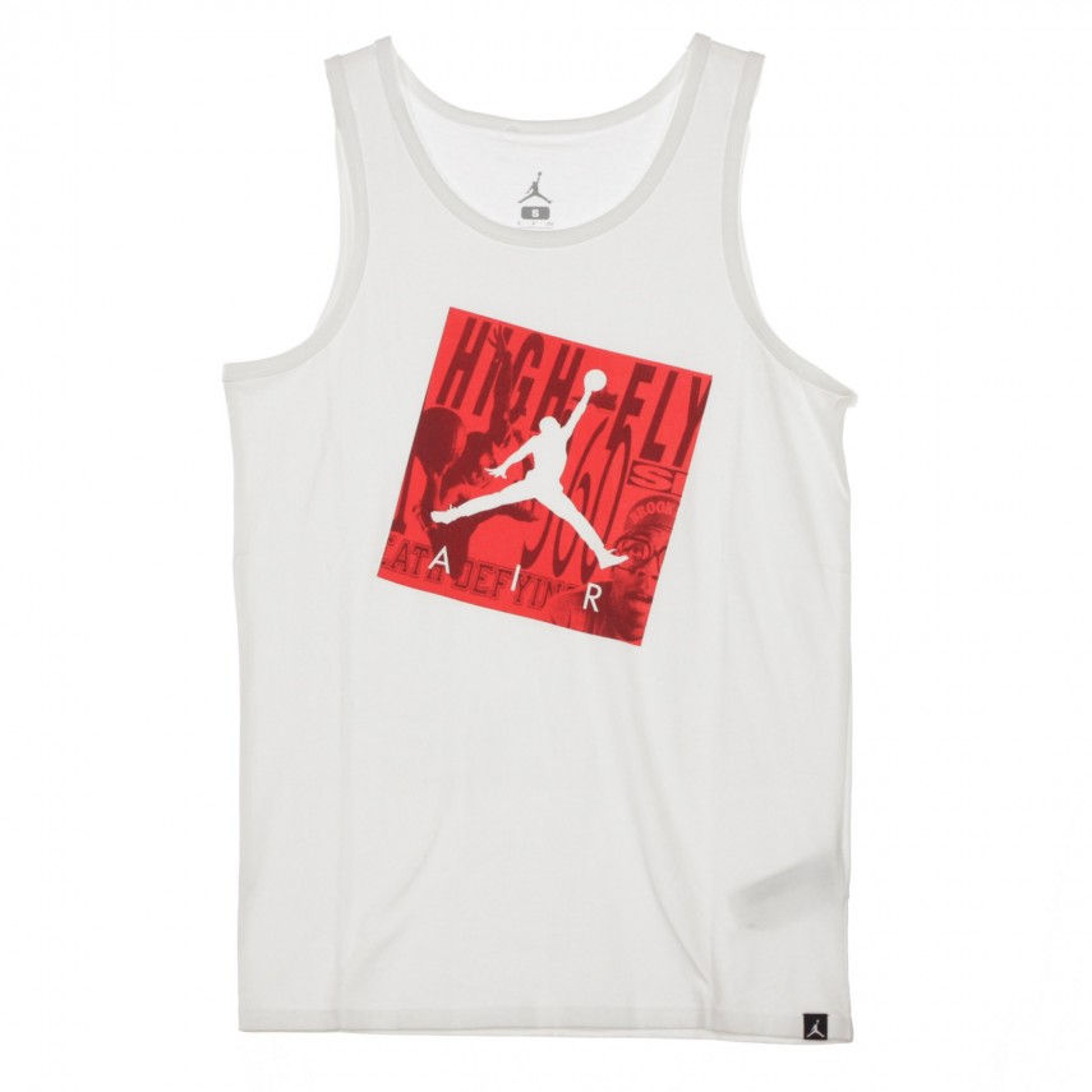 CANOTTA TANK HBR JUMPMAN AIR WHITE UNIVERSITY RED  a21da90393b8