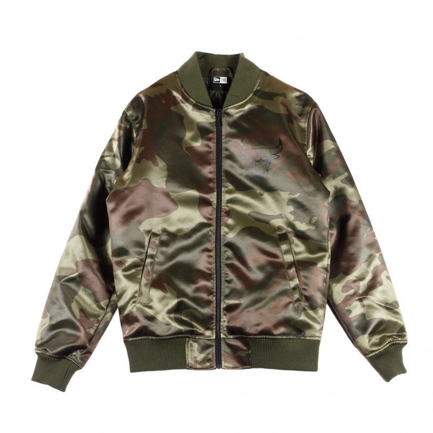 GIUBBOTTO BOMBER BNG SATEEN BOMBER CHIBUL NEW OLIVE  9865df5ba6b3