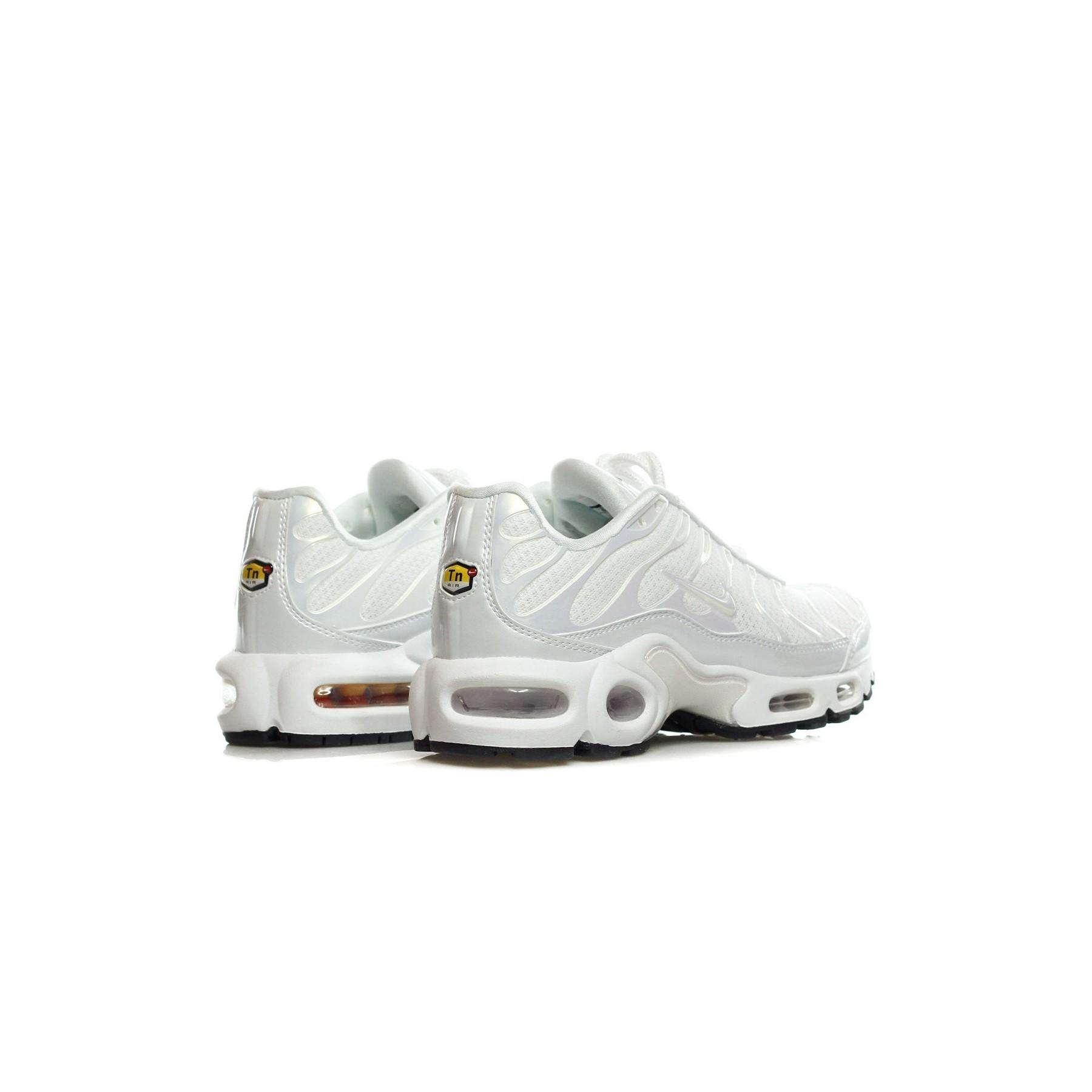 Nike SCARPA BASSA WMNS AIR MAX PLUS PRM WHITEWHITEWHITE