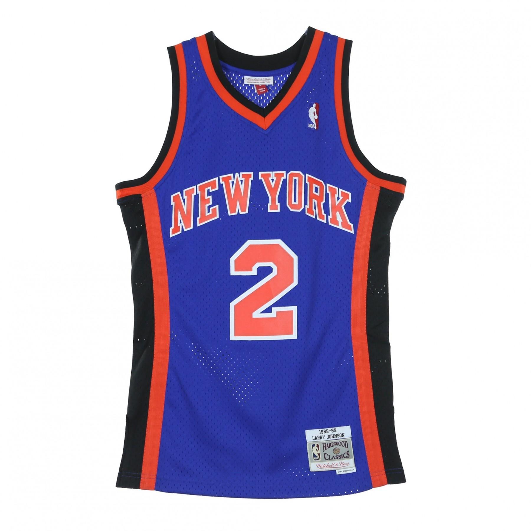 100% di alta qualità prezzo ufficiale vari tipi di CANOTTA NBA SWINGMAN JERSEY LARRY JOHNSON NO2 1998/99 NEYKNI ORIGINAL TEAM  COLORS | Atipicishop.com
