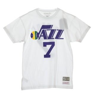 MAGLIETTA NBA NAME  NUMBER TRADITIONAL TEE PETE MARAVICH NO7 UTAJAZ 46