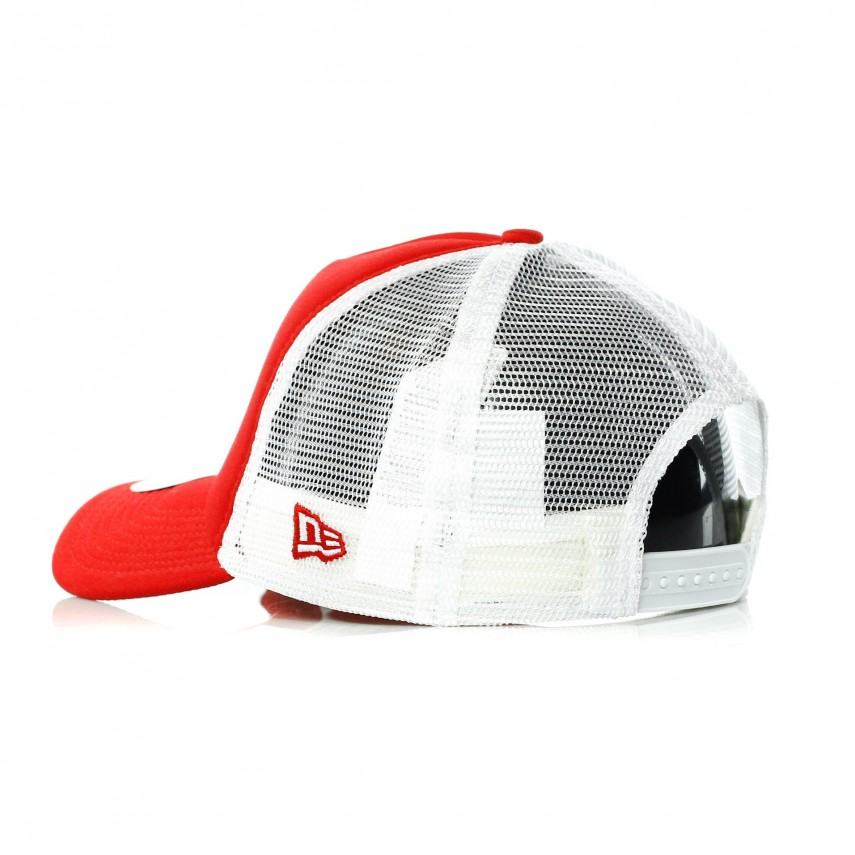 best place high quality entire collection CAPPELLO VISIERA CURVA CLEAN TRUCKER NEYYAN SCARLET/WHITE ...