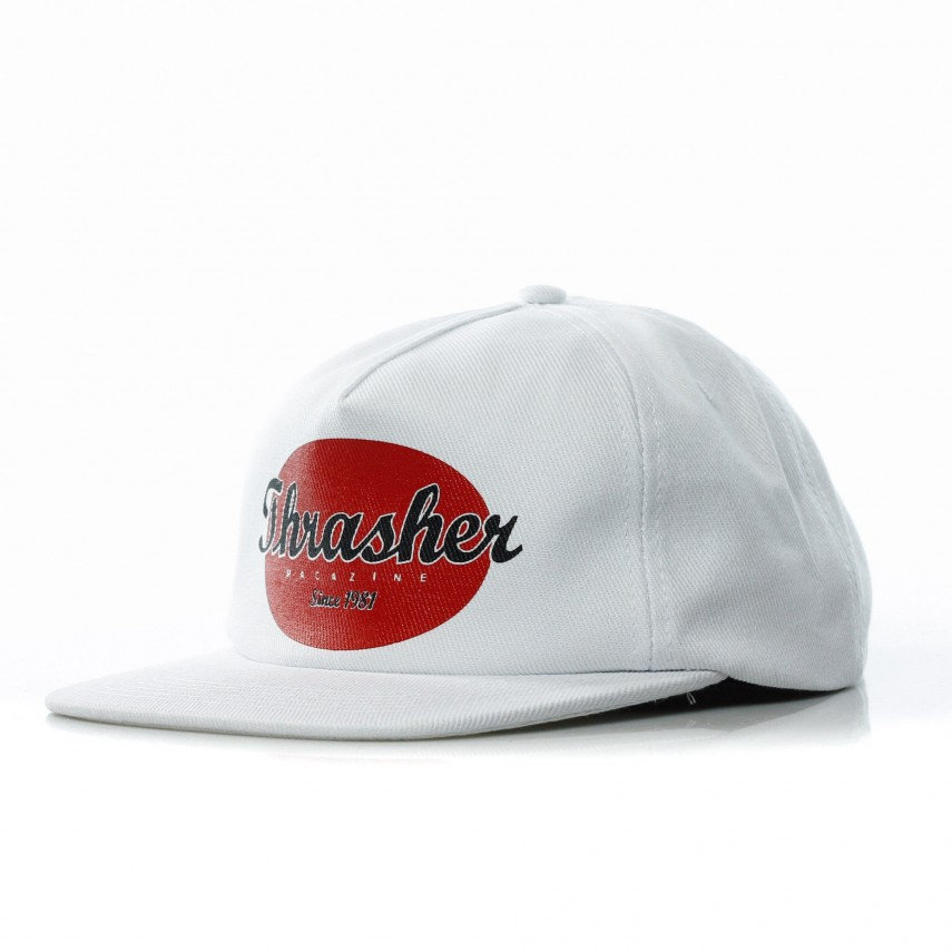 8d631a92d35 CAPPELLO SNAPBACK OVAL WHITE