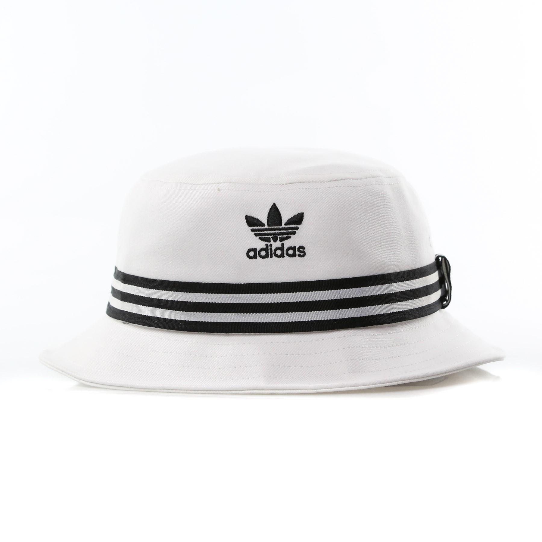 9cd400d9d8dde CAPPELLO DA PESCATORE BUCKET HAT AC WHITE BLACK