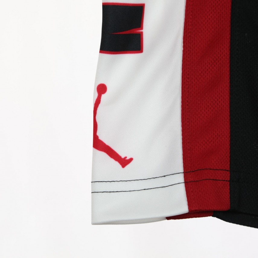 6e69d6b5e2a PANTALONE CORTO RISE SHORT 3 BLACK/GYM RED/WHITE | Atipicishop.com