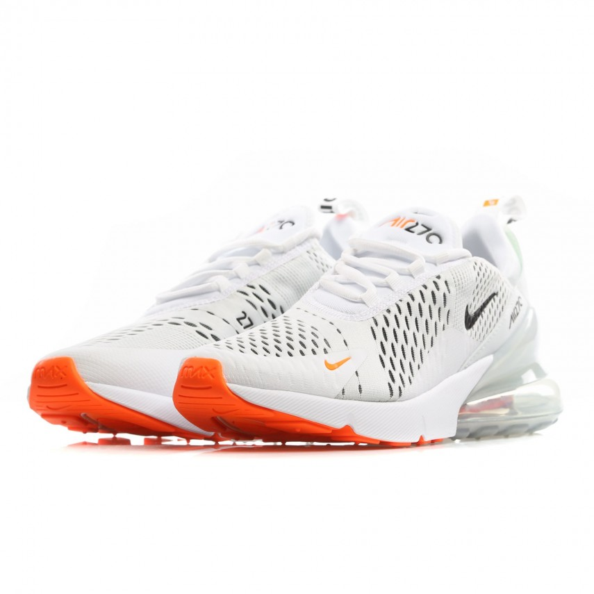 finest selection b2f98 afafd LOW SHOE AIR MAX 270 WHITE/BLACK/TOTAL ORANGE