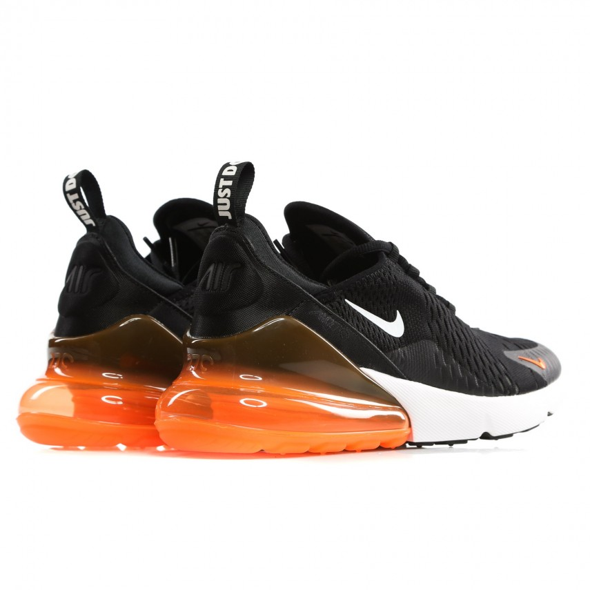 wholesale dealer fa08f 8235f LOW SHOE AIR MAX 270 BLACK/WHITE/TOTAL ORANGE