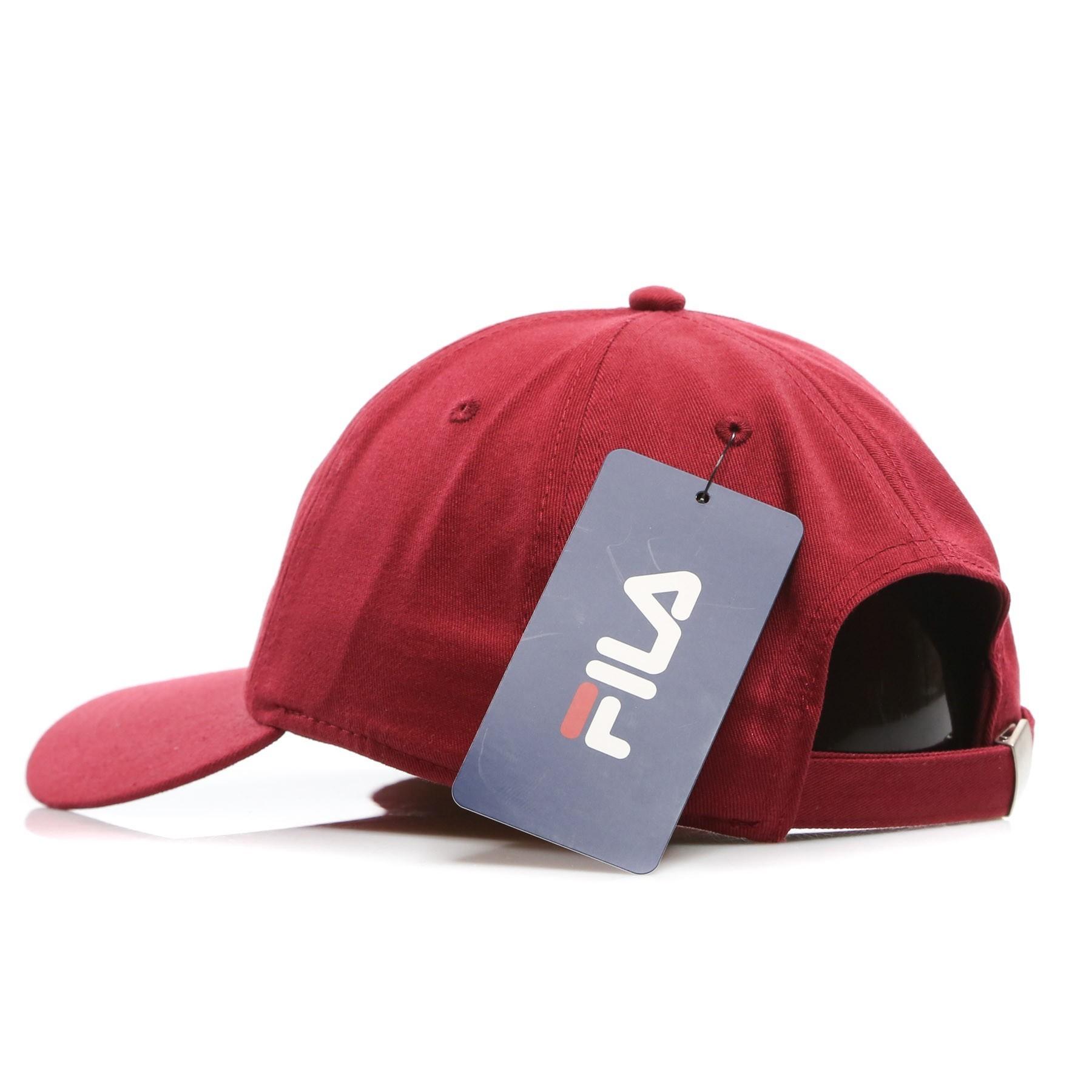 cf21a73d607 CAPPELLO VISIERA CURVA DAD CAP LINEAR STRAP BACK RED RHUBARB ...