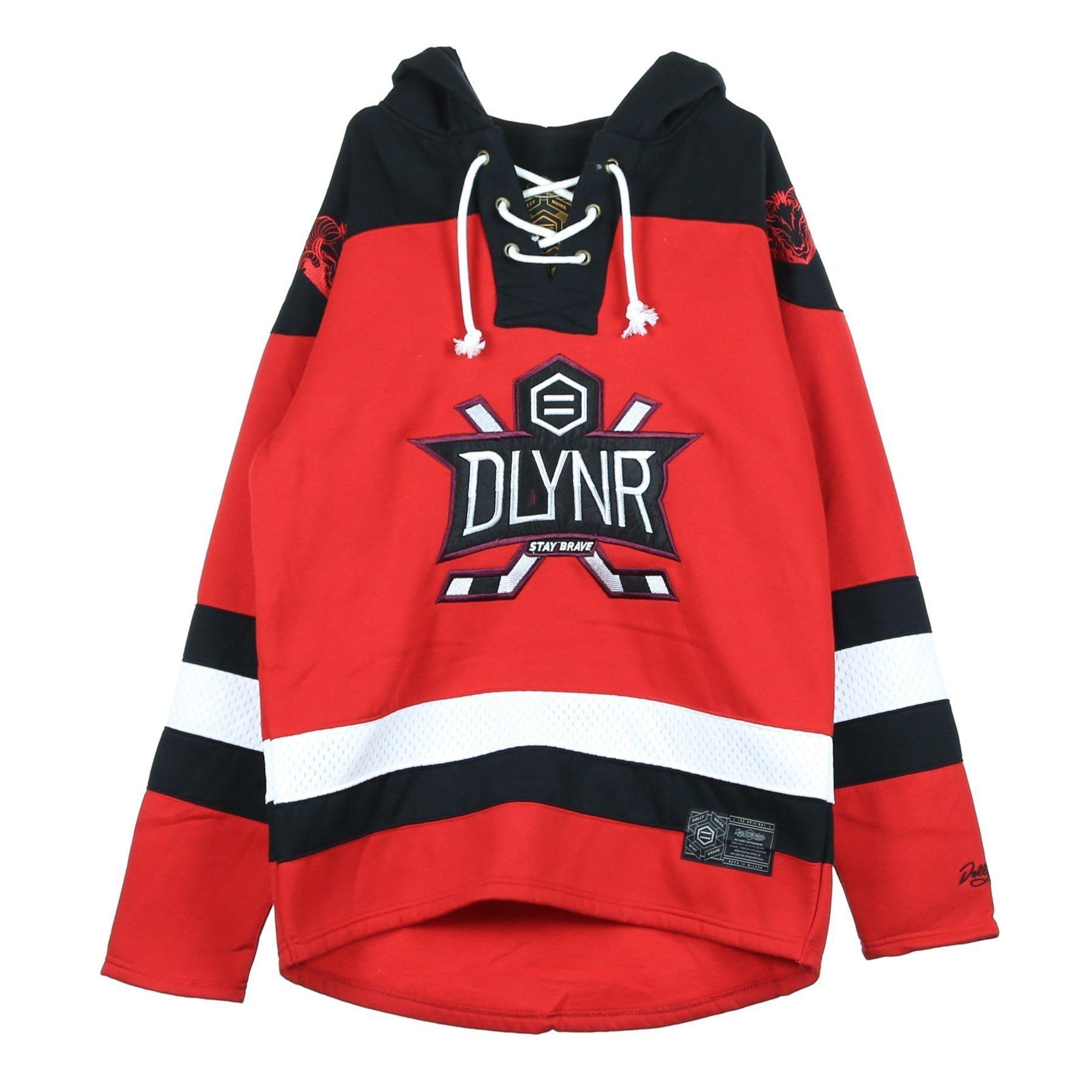 Dolly Noire Hockey Felpa Cappuccio