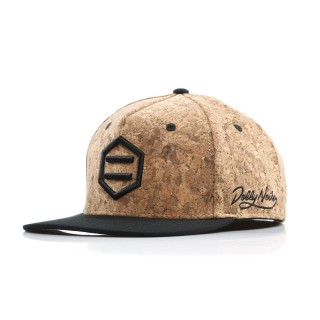 CAPPELLO SNAPBACK HEXAGON CORK L