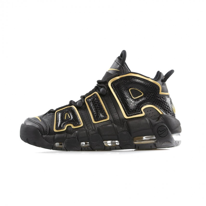 Nike Air More Uptempo BlackMetallic Gold 'France' AV3810