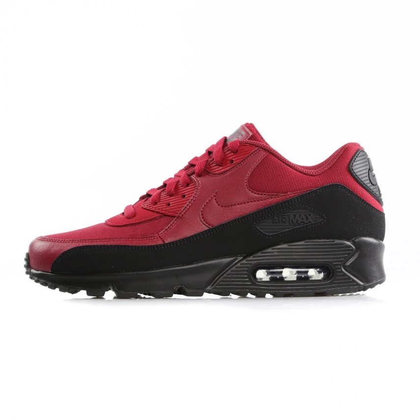 Nike Air Max 90 Essential Sz UK 6 EUR 40 Blackred Crush