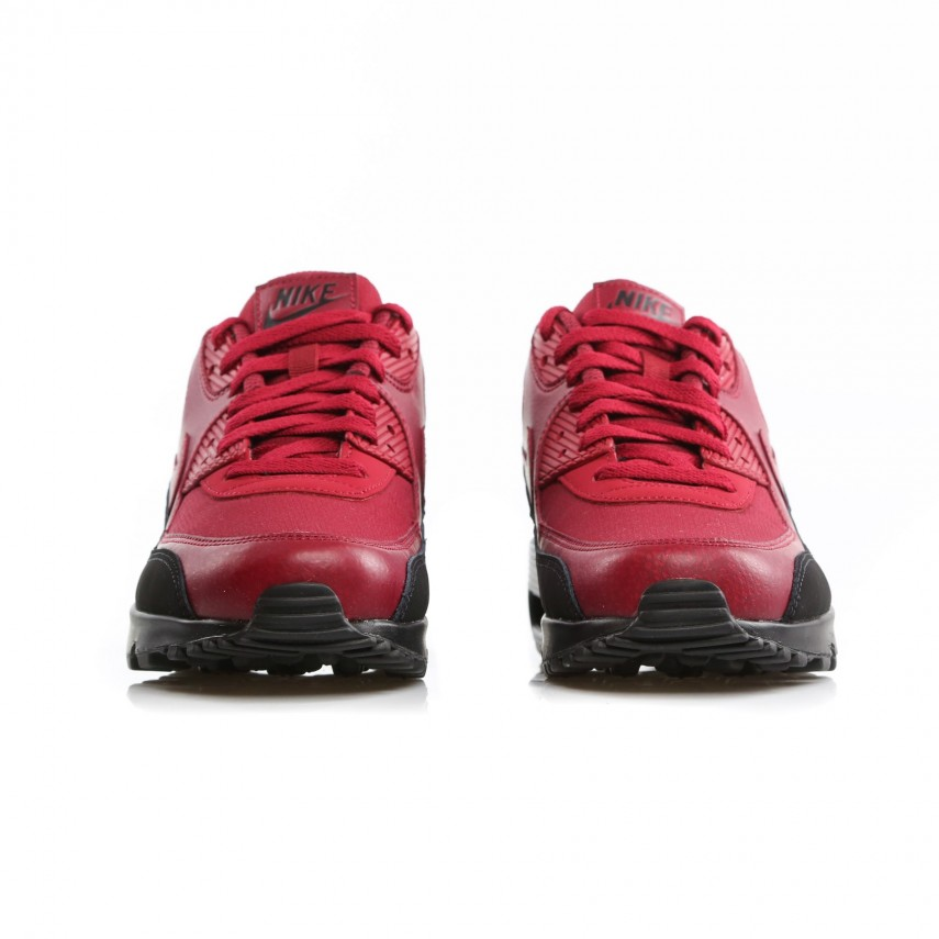 size 40 c20c7 7c169 SCARPA BASSA AIR MAX 90 ESSENTIAL BLACK/RED CRUSH