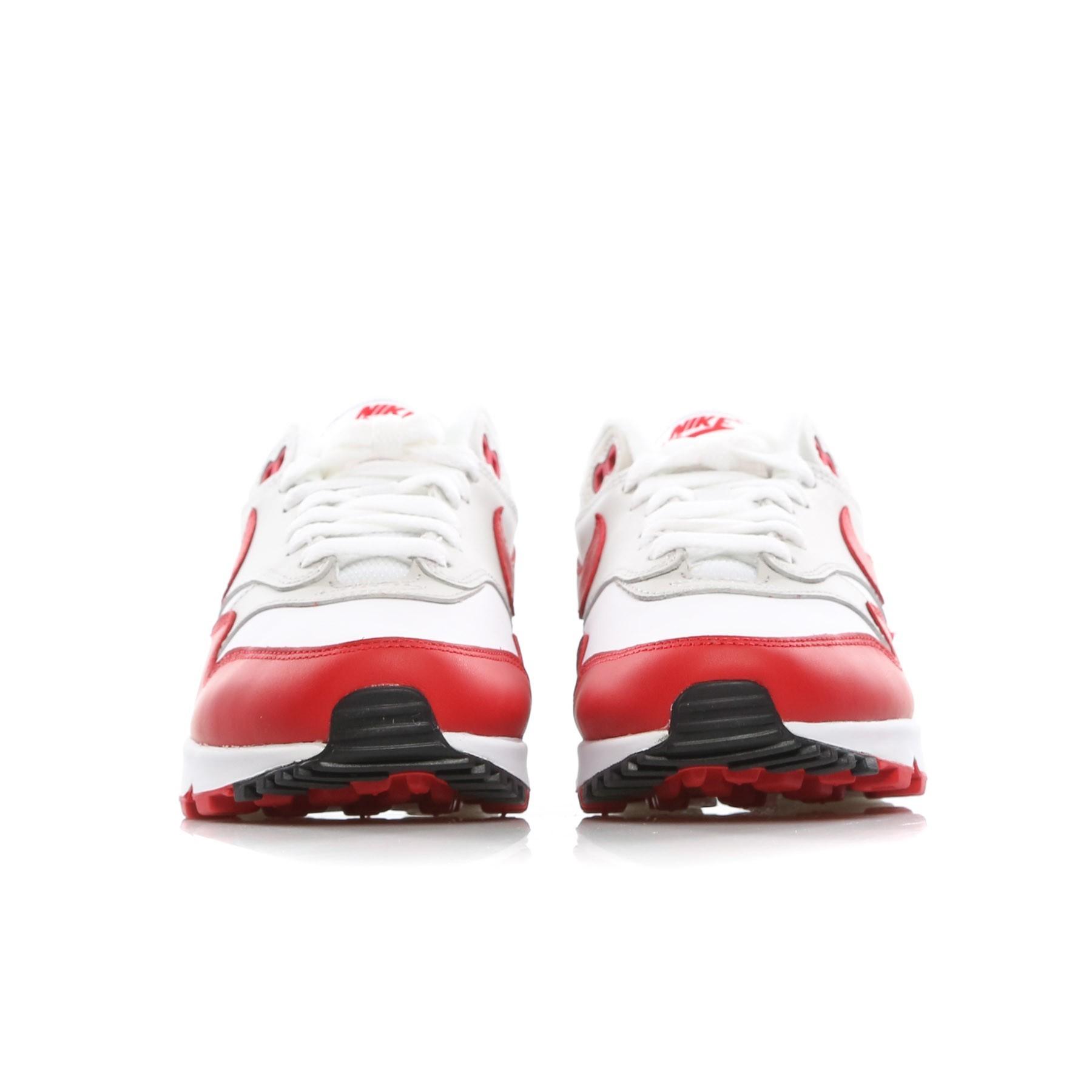 scarpa bassa donna w air max 90/1 WHITE/UNIVERSITY RED/NEUTRAL GREY/BLACK