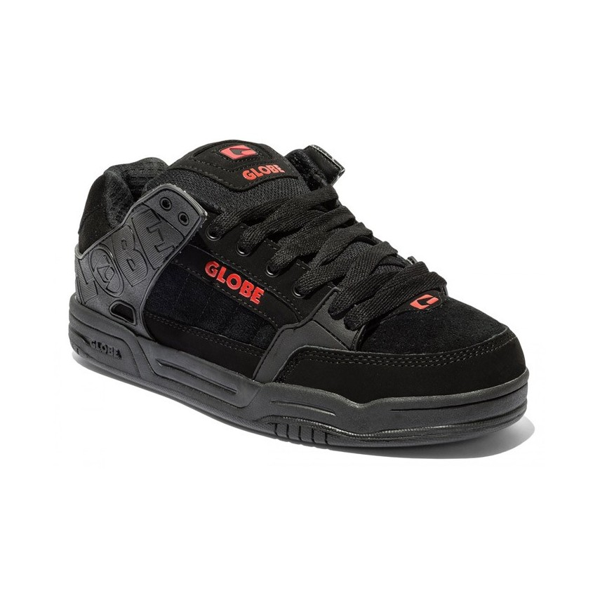 timeless design 3abcc e6f74 SCARPE SKATE GLOBE SHOES TILT Black/Red unico | Atipicishop.com