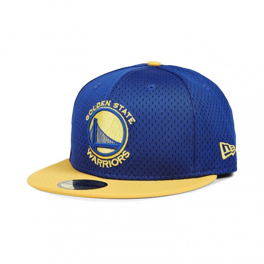 CAPPELLO FITTED NBA SPORTS MESH GOLWAR ROYAL GIALLO  410918850f1d