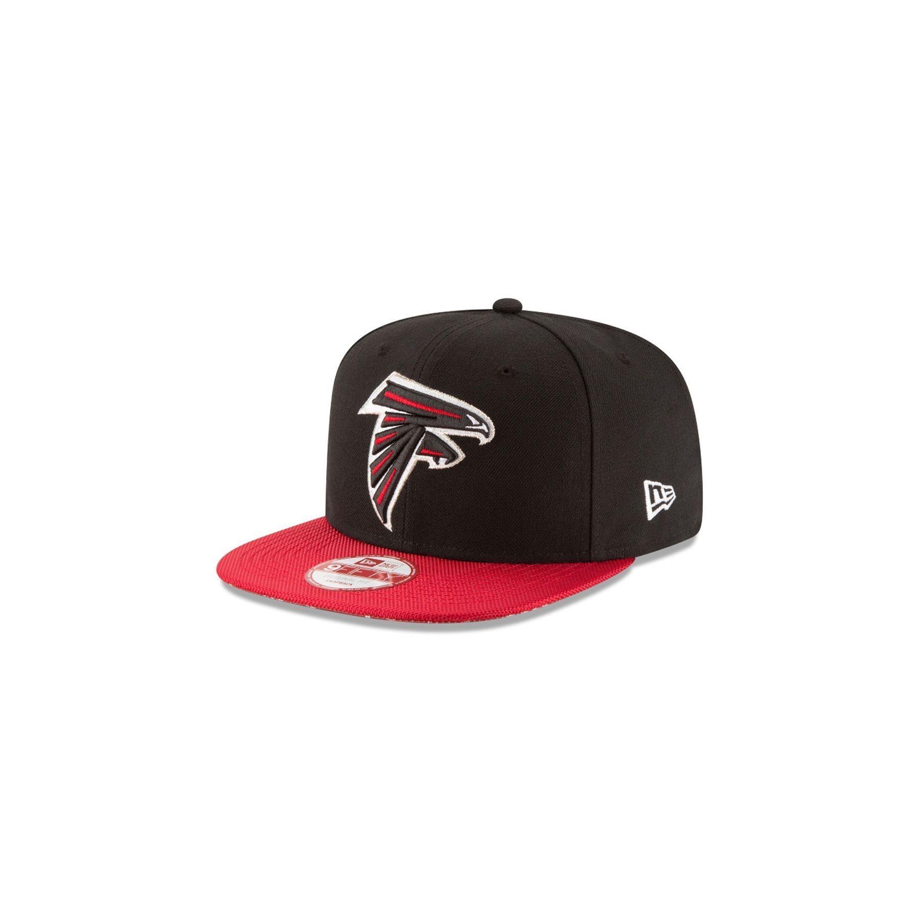 NEW ERA. CAPPELLO SNAPBACK NFL SIDELINE ATLFAL NERO ROSSO c569564c2d02