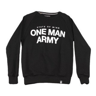 FELPA GIROCOLLO ONE ARMY SWEATSHIRT