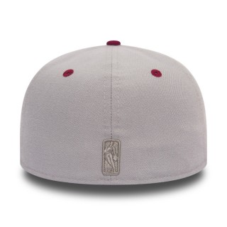 CAPPELLO FITTED NBA RUBBER LOGO 59 FIFTY CLECAV Array