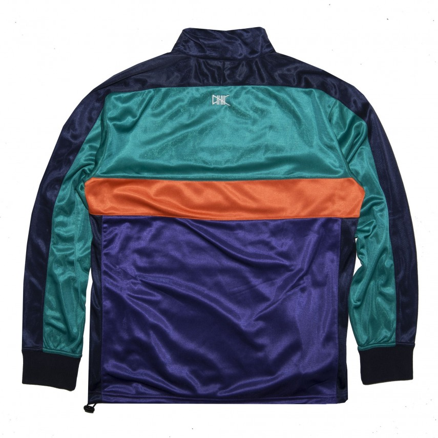 94a9af8ee1 Felpa Girocollo Conference Champs Pulover Track Jacket Navy Multi