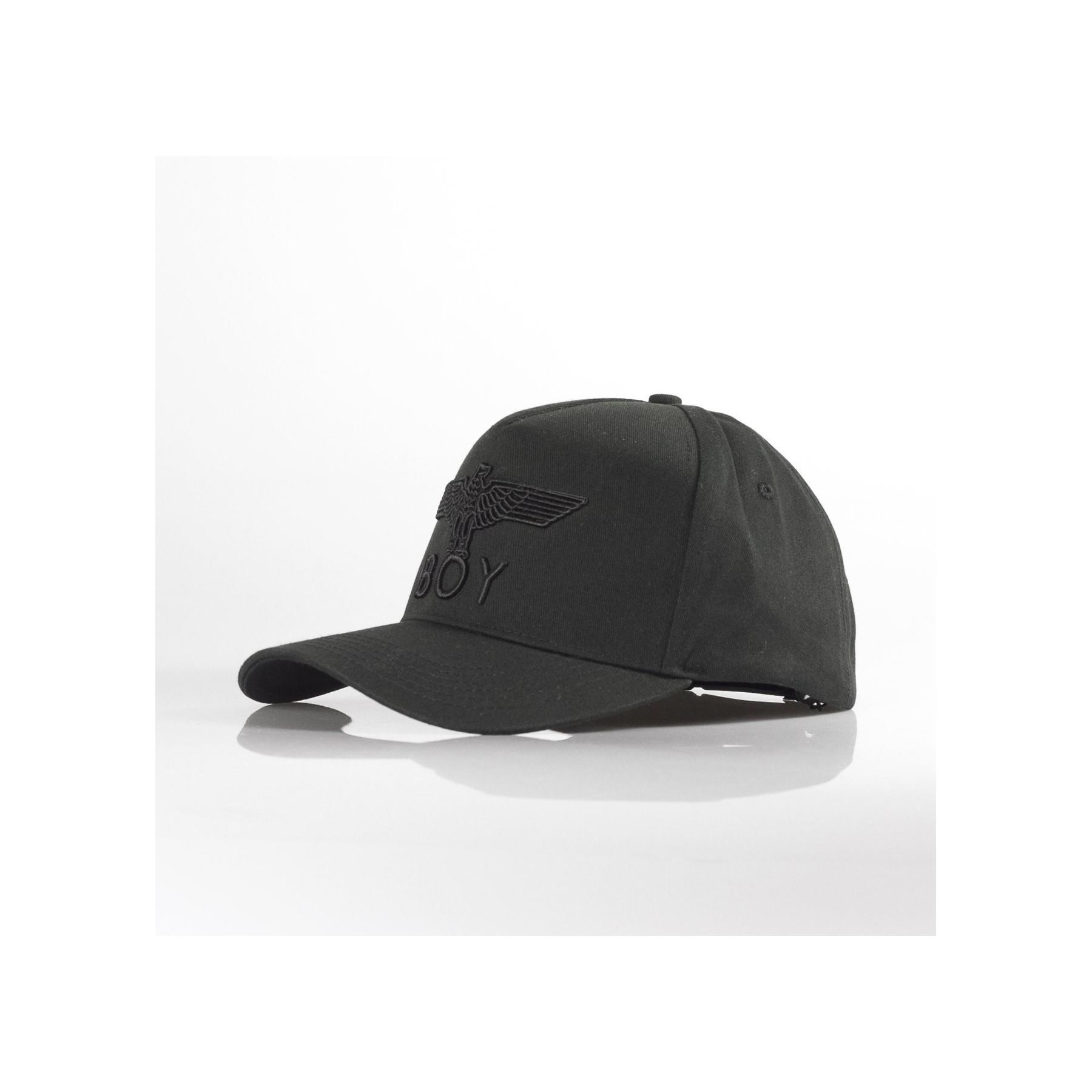 nuovo prodotto 100% qualità vendita calda online CAPPELLO VISIERA CURVA EAGLE CAP BLACK/BLACK   Atipicishop.com