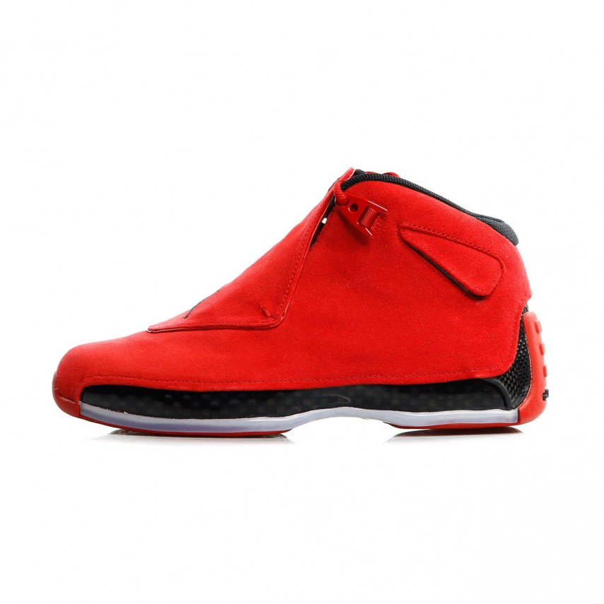 bbc0fac59fa3be SCARPA ALTA AIR JORDAN 18 RETRO GYM RED BLACK