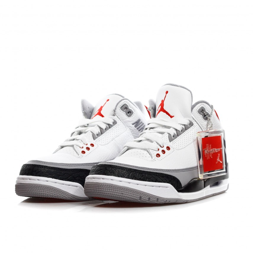 SCARPA ALTA AIR JORDAN 3 RETRO TINKER NRG WHITE BLACK FIRE RED ... 4e4731b6e