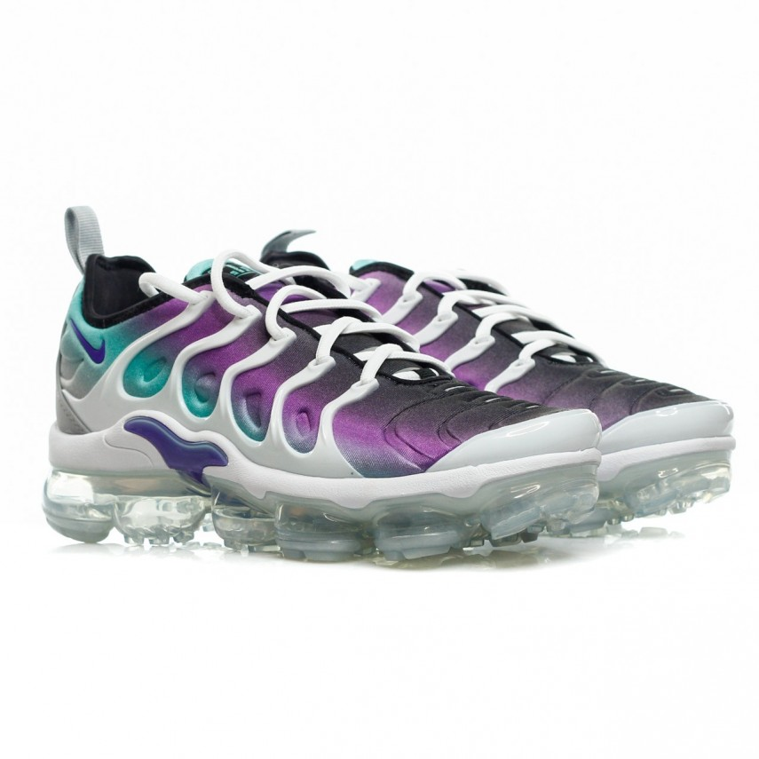 check out 328e7 2f97e SCARPA BASSA AIR VAPORMAX PLUS WHITE/FIERCE PURPLE
