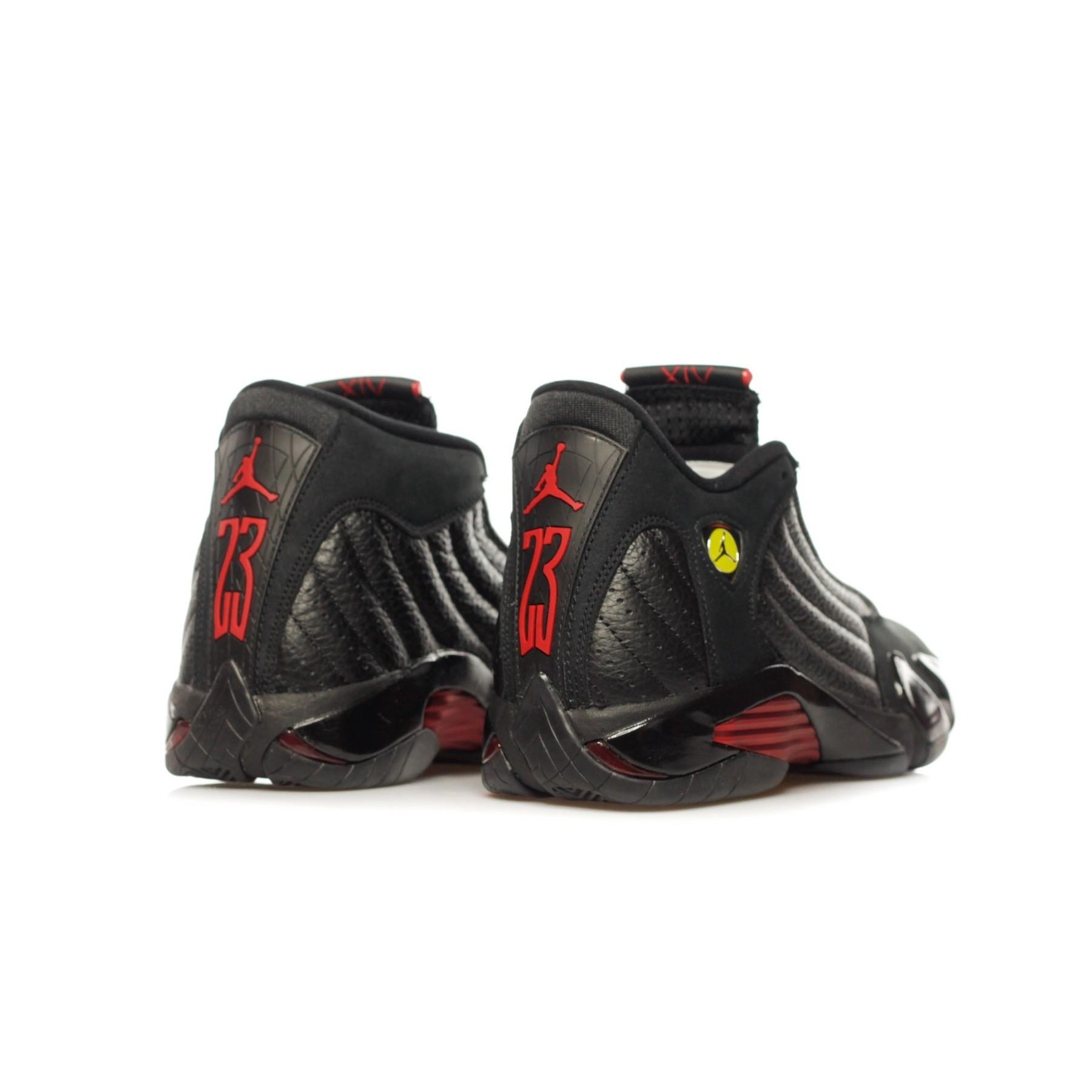 wholesale dealer da083 7fd24 HIGH SHOE AIR JORDAN 14 RETRO LAST SHOT BLACK/VARSITY RED/BLACK