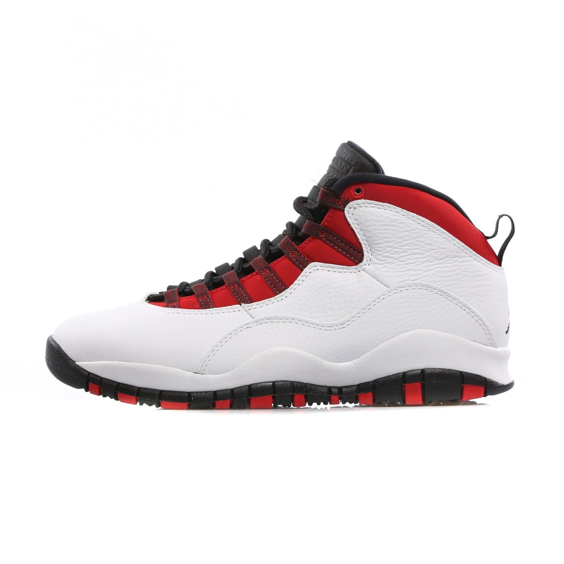sports shoes c4977 e544e HIGH SHOE AIR JORDAN 10 RETRO CLASS OF 2006 WHITE BLACK UNIVERSITY RED