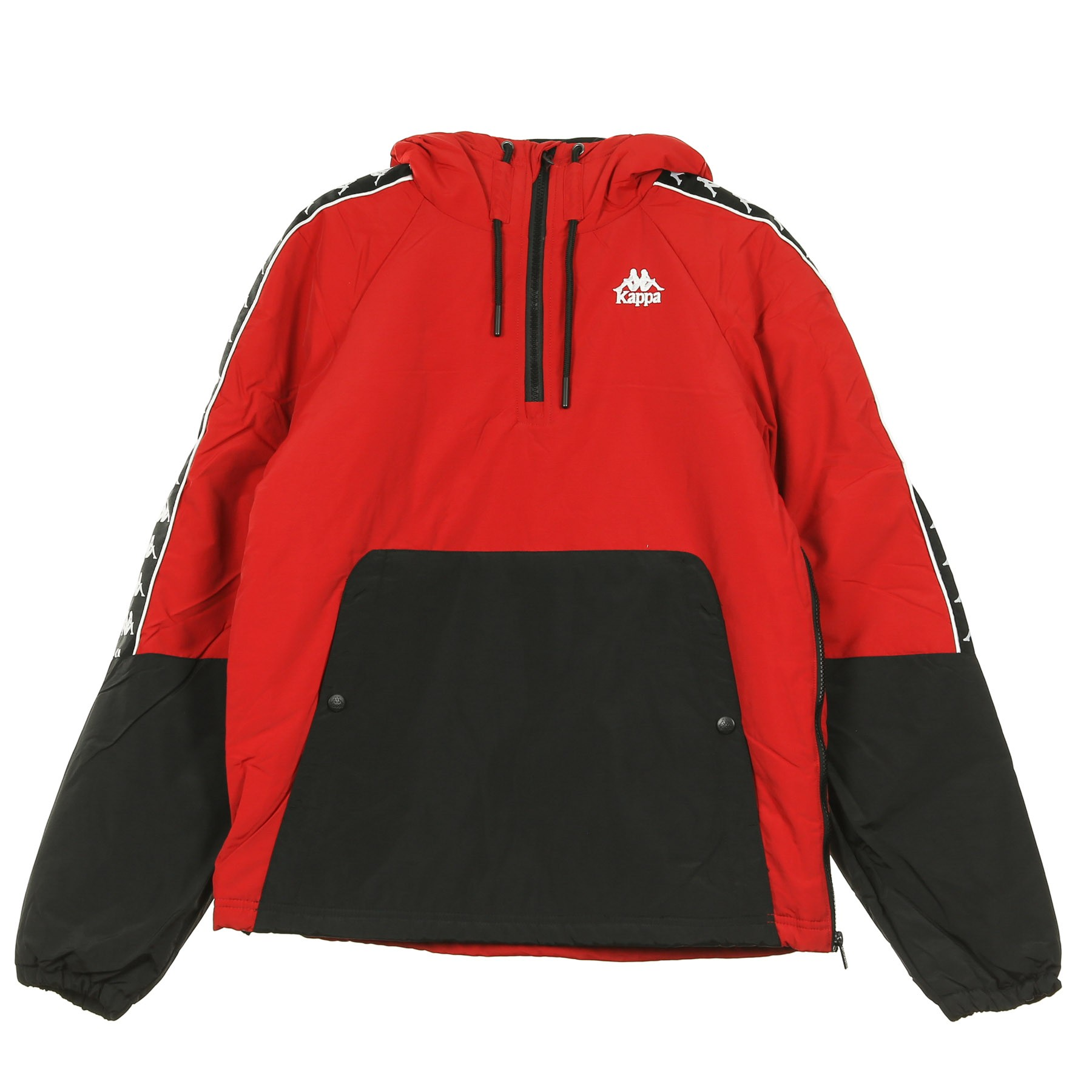 promo code 8512b 14a55 GIACCA A VENTO AUTHENTIC AMAUL RED DK/BLACK ...