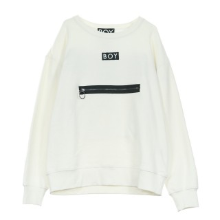 FELPA GIROCOLLO GROSGRAIN SWEAT