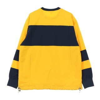 FELPA GIROCOLLO COLOUR BLOCK SWEATSHIRT Array