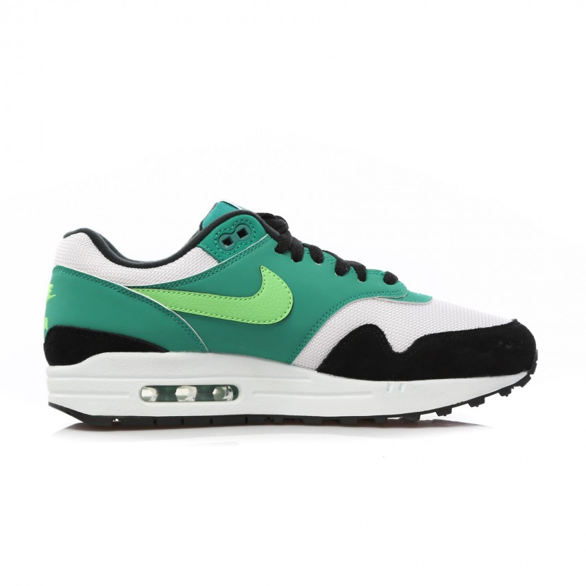 fashion styles great prices new york LOW SHOE AIR MAX 1 WHITE/GREEN STRIKE