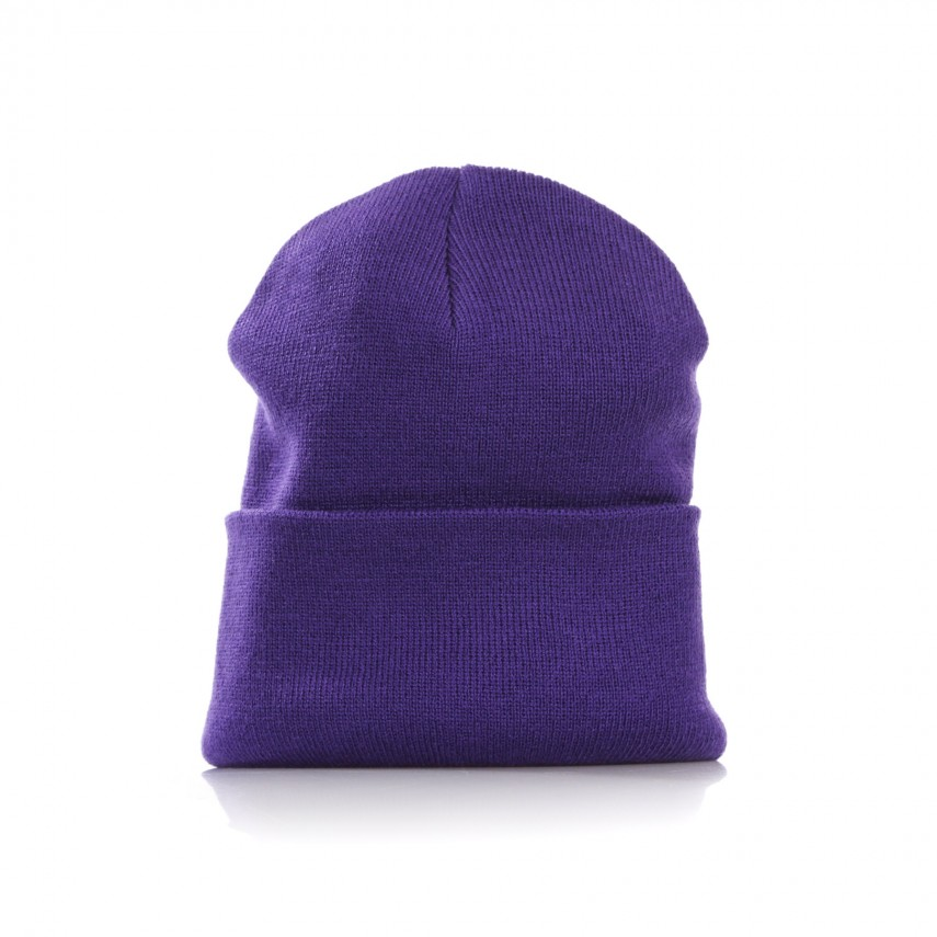 c67798585ef BERRETTO LANA ACRYLIC WATCH HAT FROSTED VIOLA