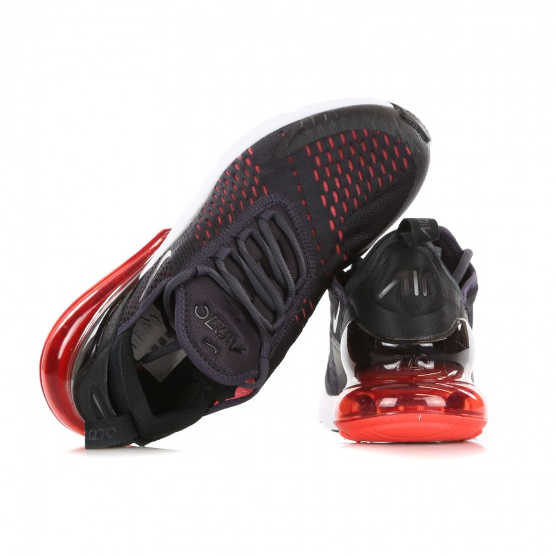 air max 270 red black and grey
