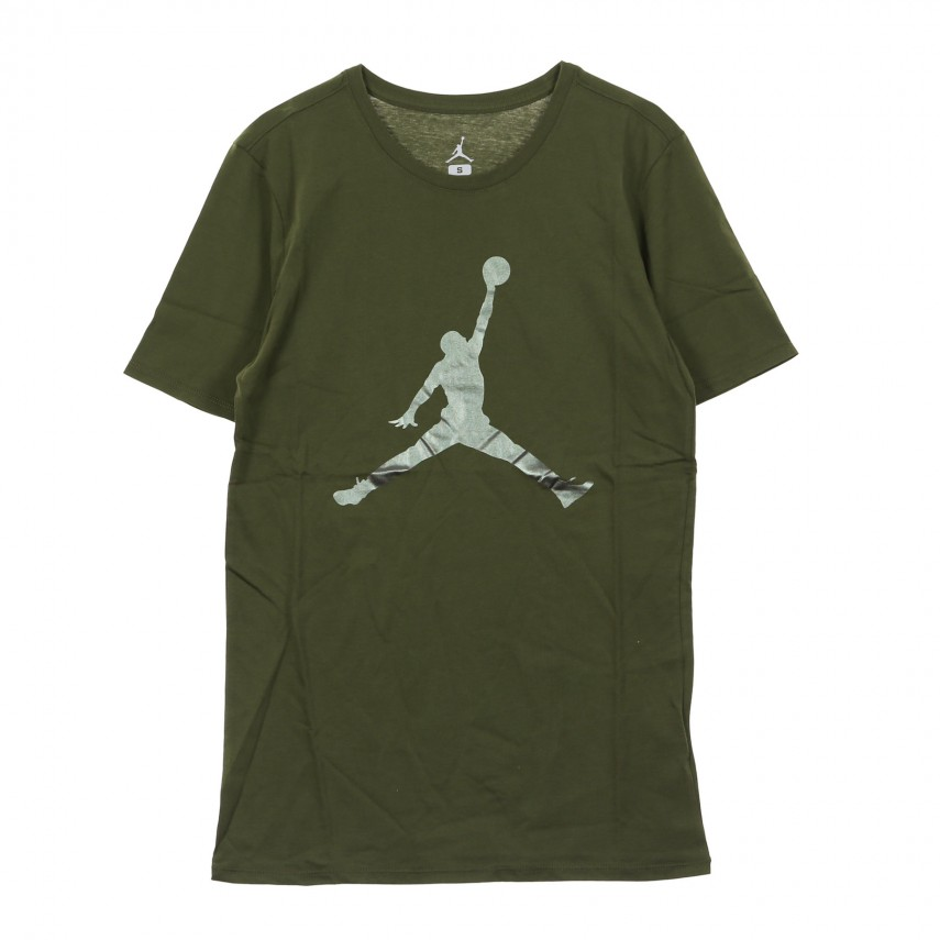 9c9f08ca9a1be4 MAGLIETTA ICONIC JUMPMAN OLIVE CANVAS