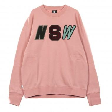 FELPA GIROCOLLO NSW CRW LS FLC S