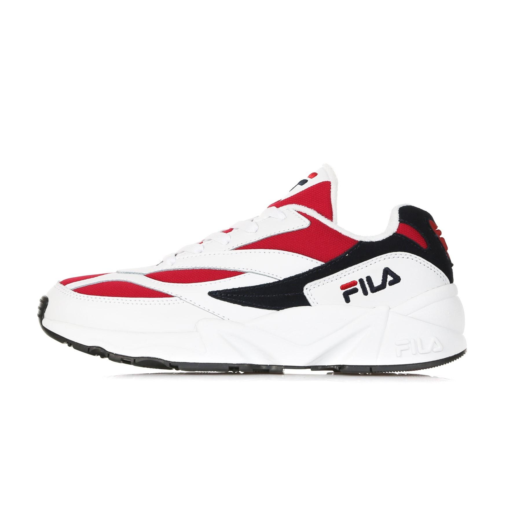 SCARPA BASSA FILA V94M LOW WHITE/FILA NAVY/FILA RED | Atipicishop.com