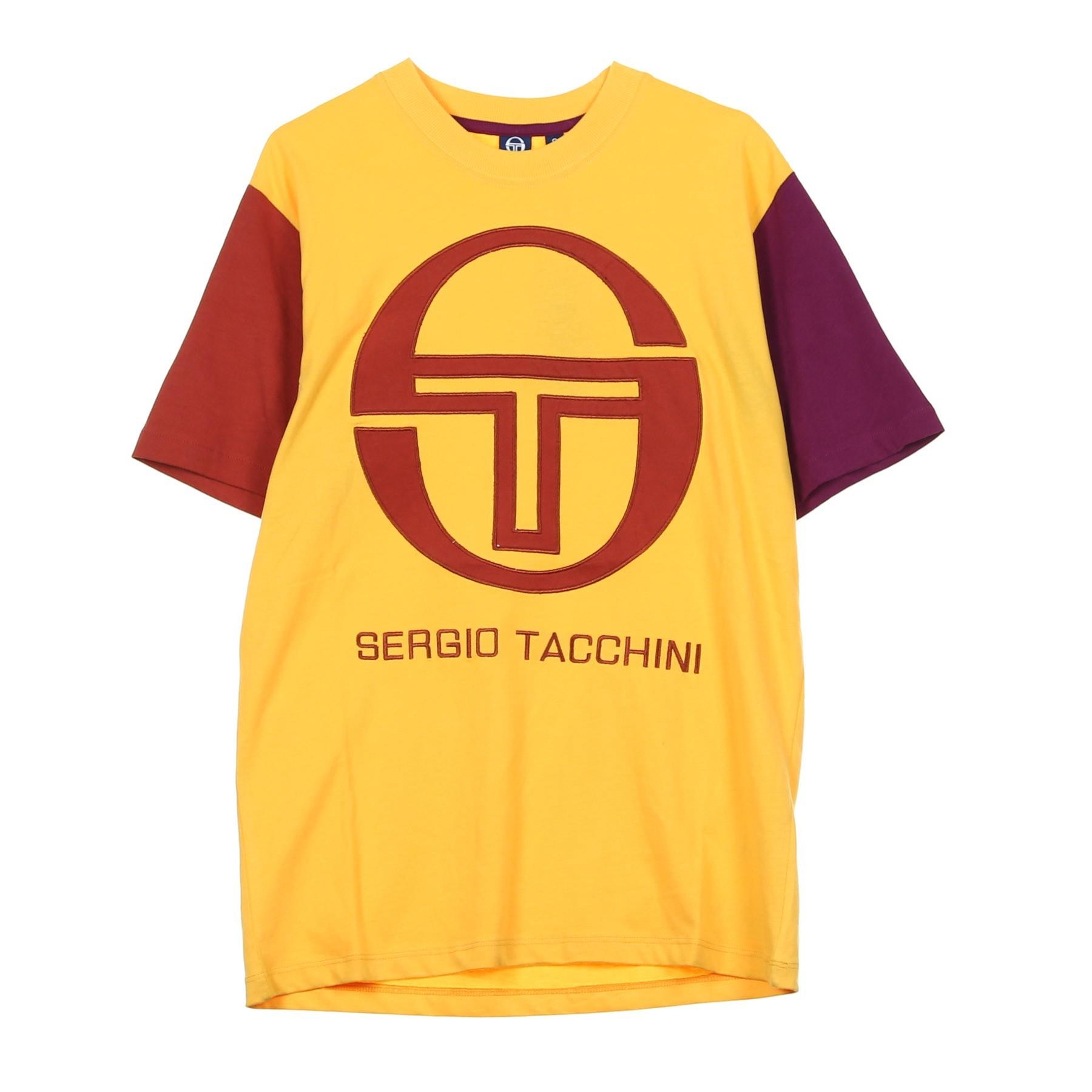 9515b9dd106 SERGIO TACCHINI. MAGLIETTA ICONA GOLD ORANGE