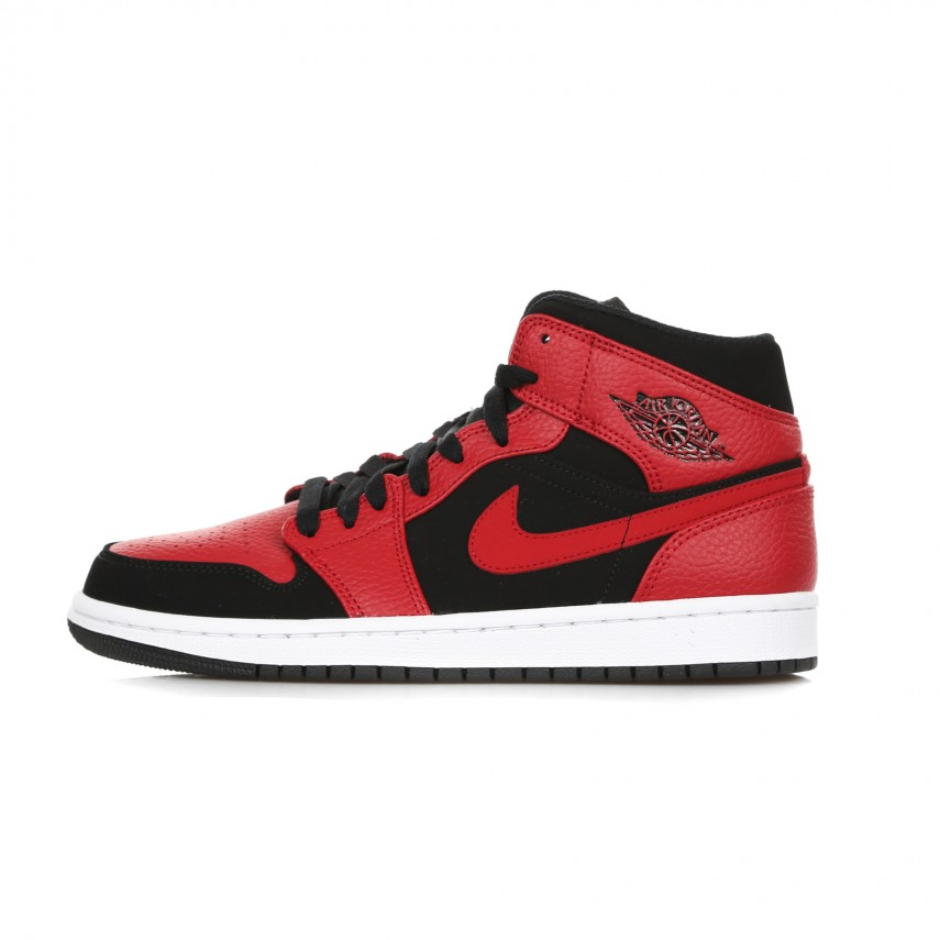 SCARPA ALTA AIR JORDAN 1 MID BLACK/GYM RED/WHITE | Atipicishop.com