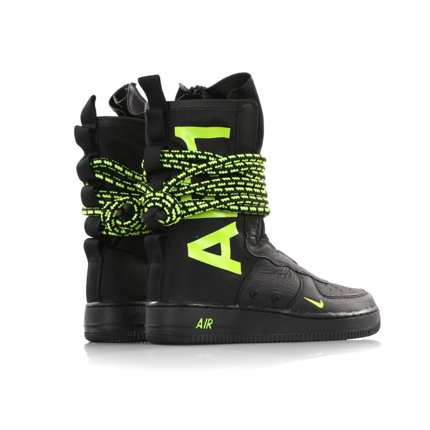 SCARPA ALTA SF AIR FORCE 1 HI BLACKVOLTBLACK