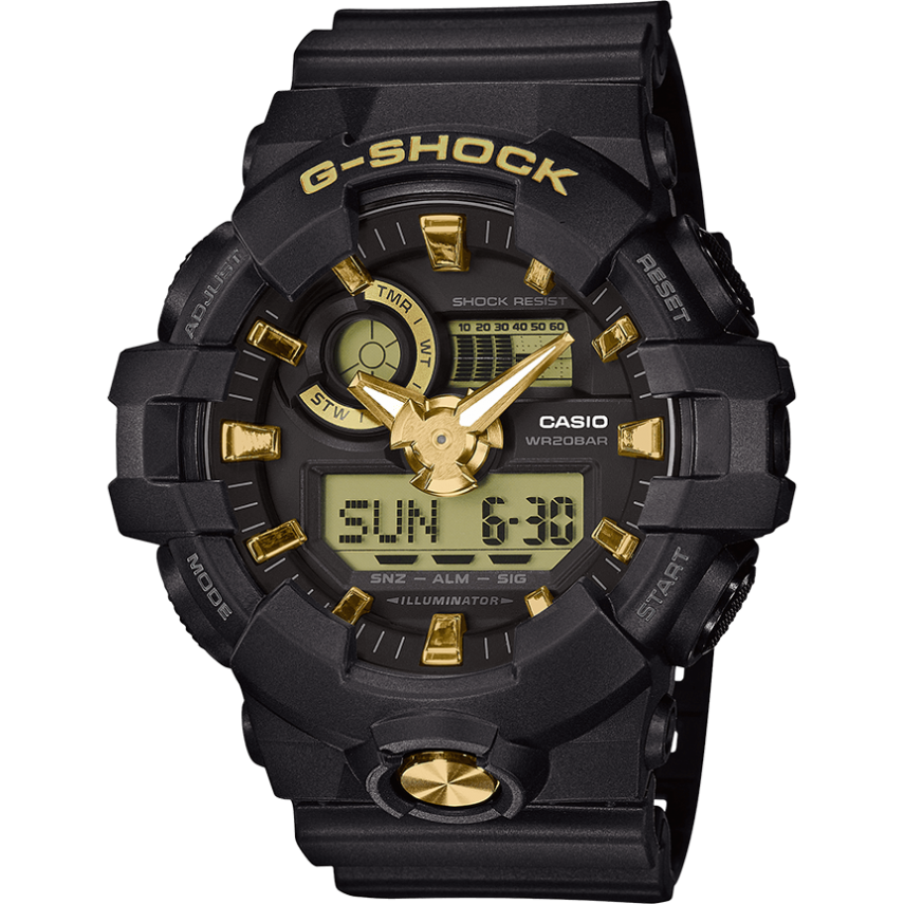 OROLOGIO G-SHOCK GA-710B-1A9ER