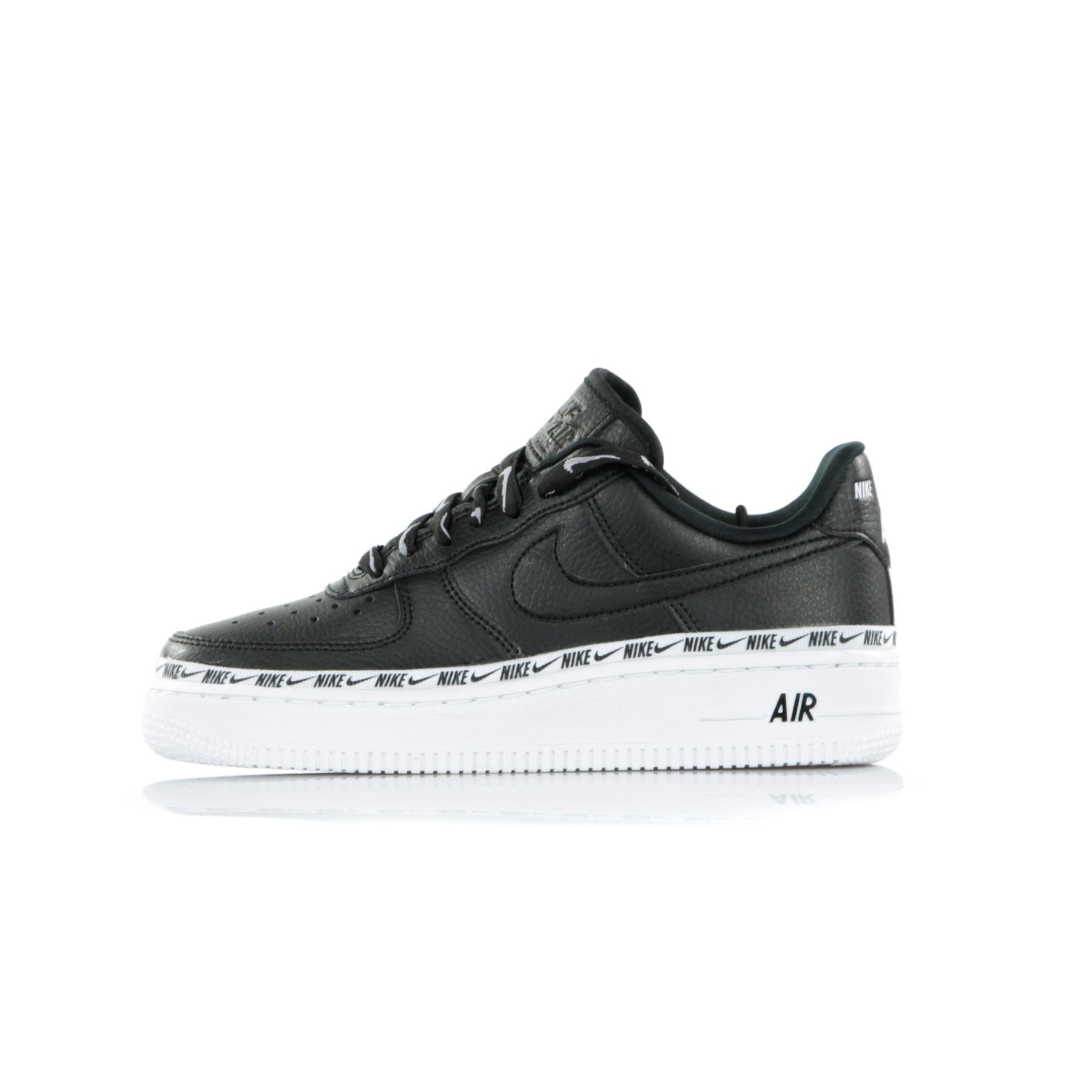 Nike W Air Force 1 '07 SE PRM Black Black White   Footshop