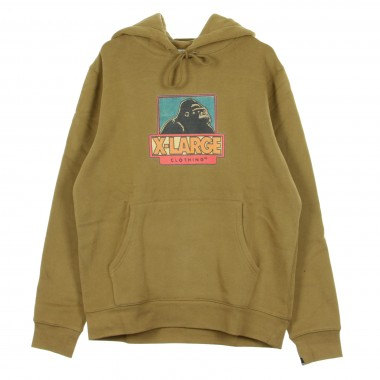 FELPA CAPPUCCIO STRIP OG PULLOVER HOODIE SAFARI Array