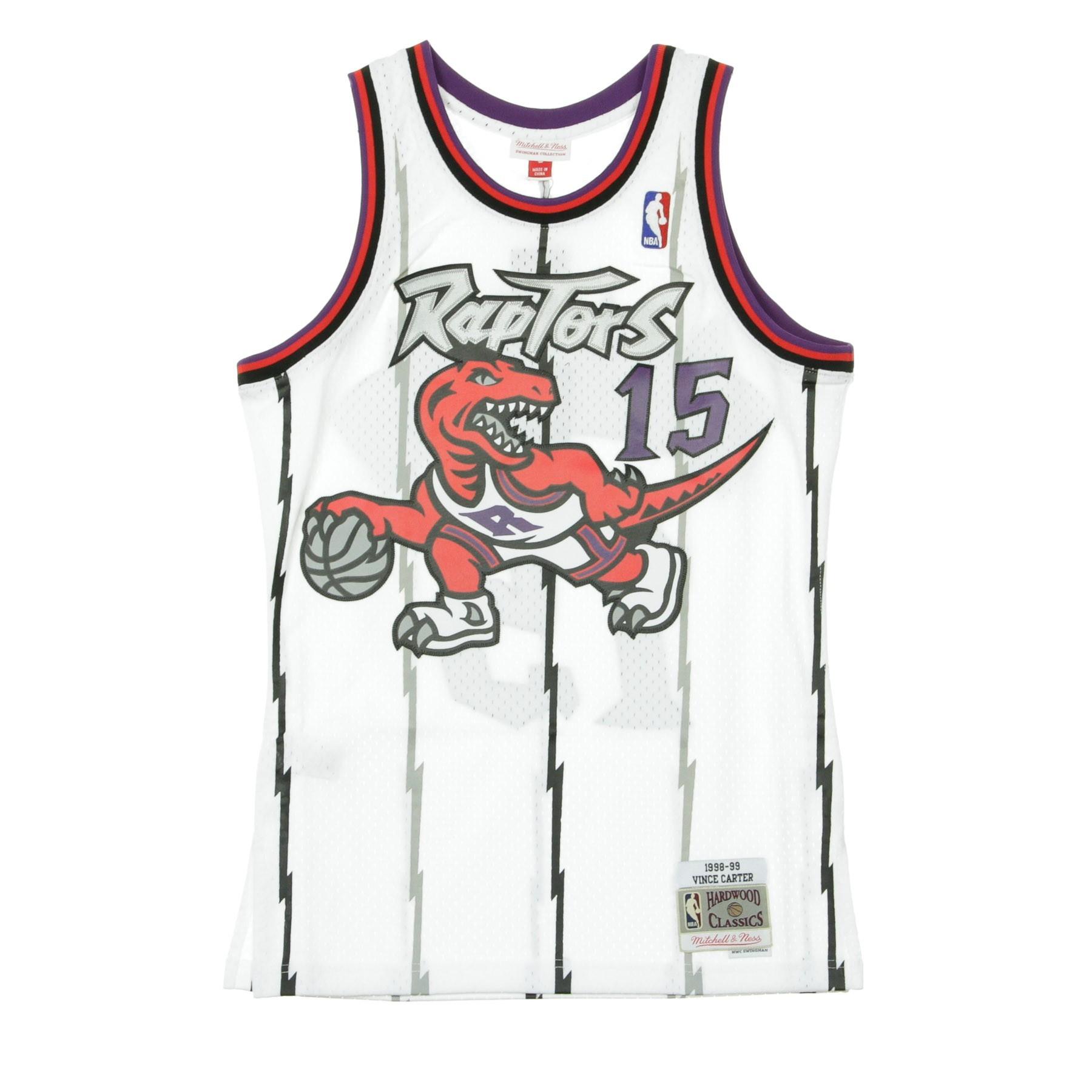 super popular 6bfd5 ddd3b CANOTTA NBA SWINGMAN JERSEY VINCE CARTER NO15 1998/99 HOME TORRAP ORIGINAL  TEAM COLORS | Atipicishop.com